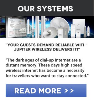 Reliable Wifi Hotspot Systems - Jupiter Wireless Delivers!
