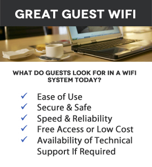 Great Hotel, Motel & Guest Wireless Internet Systems